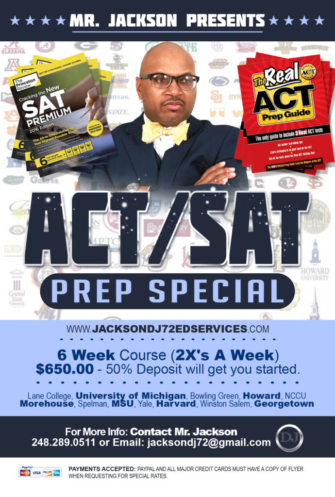 SAT/ACT Prep Special